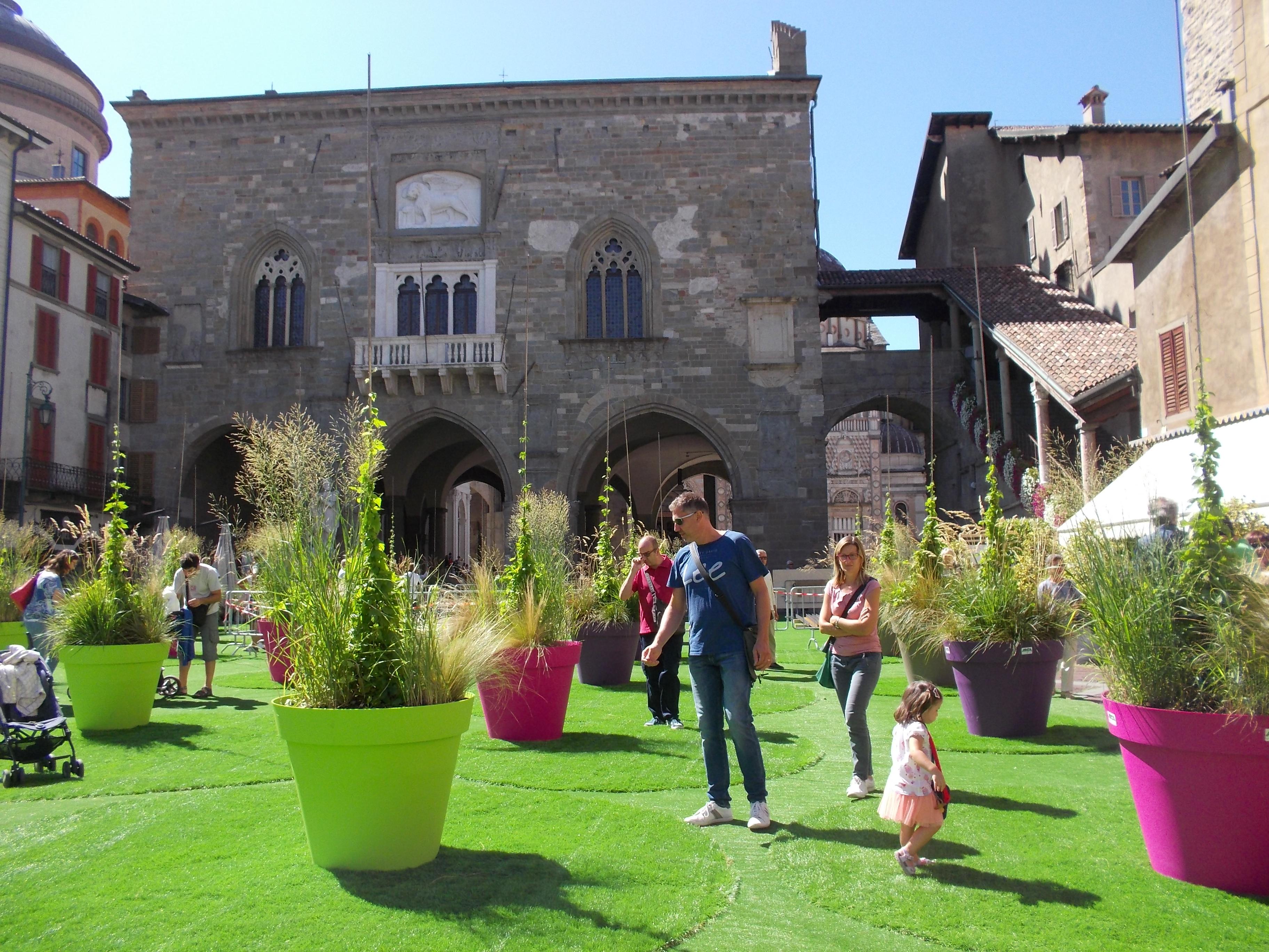 I Maestri Del Paesaggio Bergamo Citta Alta Marissima